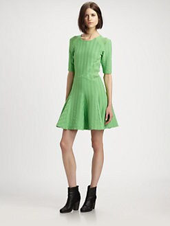 Rag & Bone - Niki Flared Woven Dress