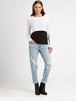 Rag & Bone - Belle Cropped Sweater