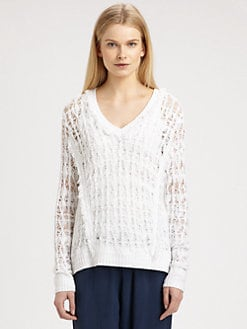 Rag & Bone - Vicky Open-Knit Sweater