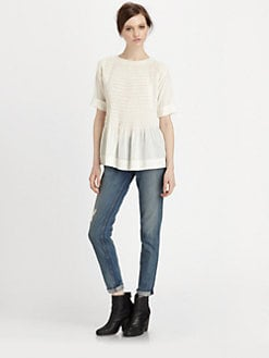 Rag & Bone - Ivette Stretch-Silk Shirt