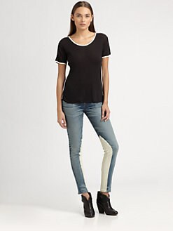 Rag & Bone - Piped Jersey Tee