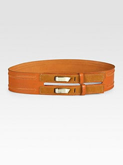 Rag & Bone - Wide Leather Belt