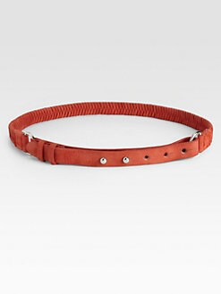 Rag & Bone - Braided Leather Belt