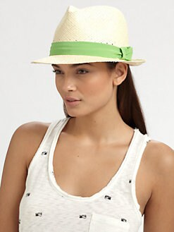 Rag & Bone - Madison Straw Fedora