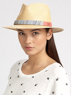 Rag & Bone - Range Straw Fedora