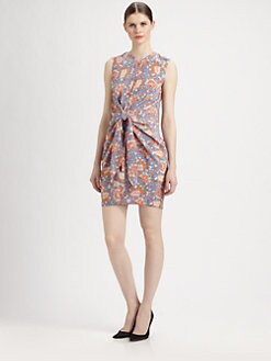 Carven - Draped Tie Dress