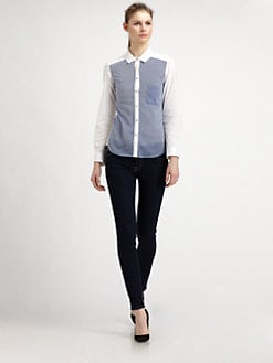 Elizabeth and James - Blake Patchwork Shirt