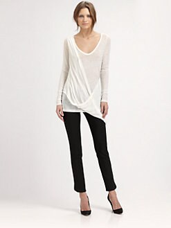 Elizabeth and James - Shane Draped T-Shirt