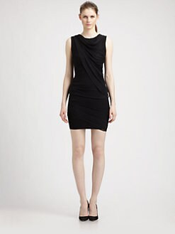 Elizabeth and James - Marika Draped Silk Dress