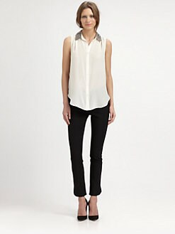 Elizabeth and James - Julian Silk Blouse
