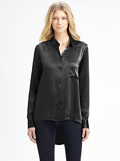 Elizabeth and James - Shawn Silk Shirt