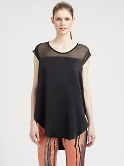 Elizabeth and James - Kari Silk Top