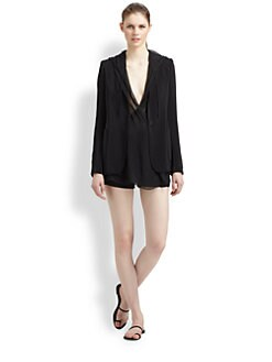 Elizabeth and James - Mona Hooded Blazer