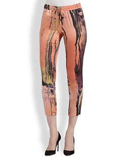 Elizabeth and James - Gessler Silk Print Pants