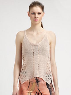 Elizabeth and James - Slouchy Knit Tank Top