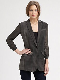 Elizabeth and James - Jamie Ramie Blazer