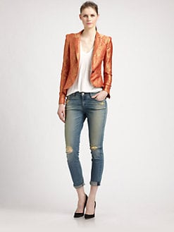 Elizabeth and James - Wren Brocade Blazer