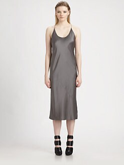 T by Alexander Wang - Silk Satin Slip Dress