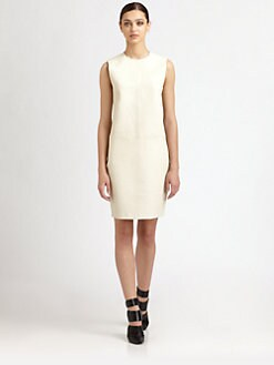 T by Alexander Wang - Leather Shift Dress