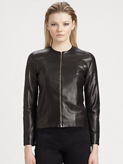 T by Alexander Wang - Lightweight Leather Jacket