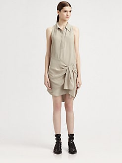 3.1 Phillip Lim - Moss Crepe Shirtdress