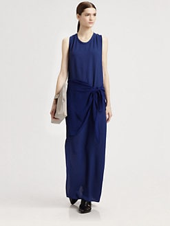 3.1 Phillip Lim - Moss Crepe Column Dress