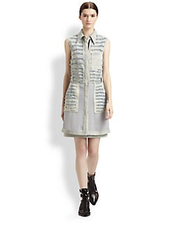 3.1 Phillip Lim - Shredded Denim Dress