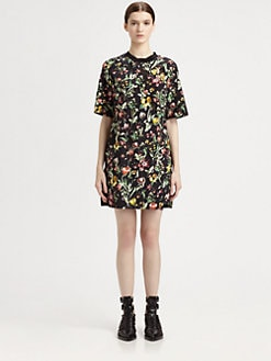 3.1 Phillip Lim - Botanical-Print Silk Dress