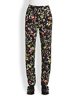 3.1 Phillip Lim - Botanical-Print Silk Pants