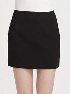 3.1 Phillip Lim - Satin-Back Crepe Skirt