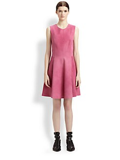 3.1 Phillip Lim - Nubuck Leather Dress