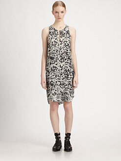 3.1 Phillip Lim - Spotted Pony-Print Silk Dress