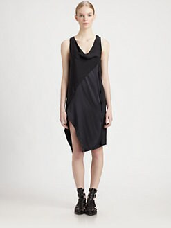 3.1 Phillip Lim - Twisted Placket Silk Dress