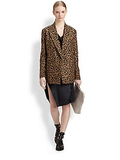 3.1 Phillip Lim - Leopard Jacquard Jacket