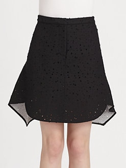 3.1 Phillip Lim - Bonded Matelass&#233; Flirt Skirt