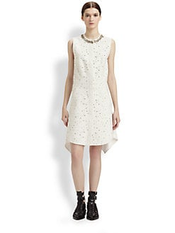 3.1 Phillip Lim - Bonded Matelass&#233; Flirt Dress