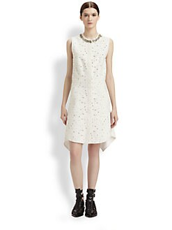 3.1 Phillip Lim - Bonded Matelassé Flirt Dress