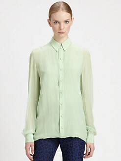 3.1 Phillip Lim - Double-Layered Silk Shirt