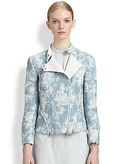 3.1 Phillip Lim - Corded Silk Motorcycle Jacket