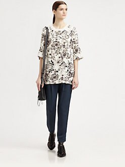 3.1 Phillip Lim - Printed Grommet Tee