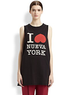 3.1 Phillip Lim - I Love Nueva York Cotton Jersey Tee