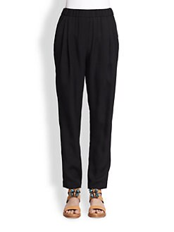 3.1 Phillip Lim - Draped-Pocket Silk Trousers