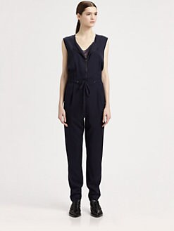 3.1 Phillip Lim - Stretch Silk Twill Jumpsuit