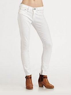 rag & bone/JEAN - Capri Zipper Jeans