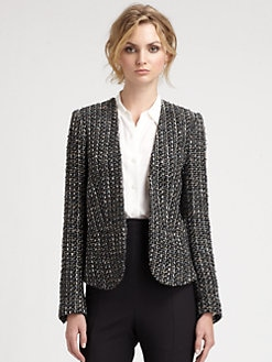 By Malene Birger - Open Front Tweed Blazer