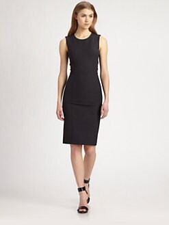 By Malene Birger - Lace-Back Sheath Dress