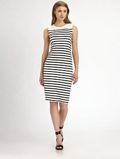 By Malene Birger - Striped Knit Dress