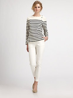 By Malene Birger - Sailor Striped Knit Top