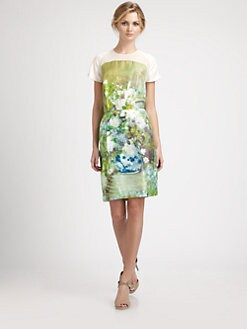 By Malene Birger - Watercolor Floral Silk Dress