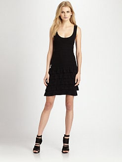 Cut 25 by Yigal Azrouel - Knit Ruffle Dress